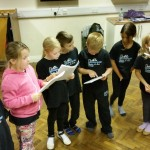 Rehearsals for Christmas Showcase